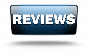 "Glossy Banner ""Reviews"""